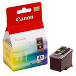 Genuine Canon CL-41 - 0617B002 Color Ink Cartridge