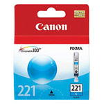 Genuine Canon CLI-221 - 2947B001 Cyan Ink Cartridge
