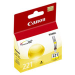 Genuine Canon CLI-221 - 2949B001 Yellow Ink Cartridge