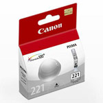 Genuine Canon CLI-221 - 2950B001 Grey Ink Cartridge