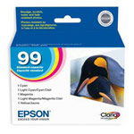 Genuine Epson T099920 Claria Ultra Hi-Definition Color Ink Cartridge Multipack