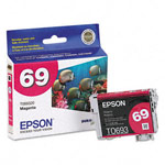 Genuine Epson 69 (T069320) Durabrite Ultra Magenta Ink Cartridge