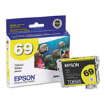 Genuine Epson 69 (T069420) Durabrite Ultra Yellow Ink Cartridge