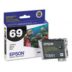 Genuine Epson 69 (T069120) Durabrite Ultra Black Ink Cartridge