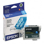 Genuine Epson T059220 Cyan Ink Cartridge