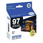 Genuine Epson T097120-D2 DURABrite Ultra Extra High Capacity Black Ink Cartridge 2 Pack