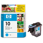 Genuine Hewlett Packard (C4801A) HP 10 Cyan Ink Printhead