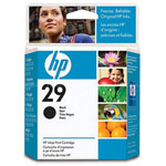 Genuine Hewlett Packard (51629A) HP 29 Black Ink Cartridge