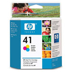 Genuine Hewlett Packard (51641A) HP 41 Color Ink Cartridge