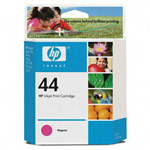 Genuine Hewlett Packard (51644M) HP 44 Magenta Ink Cartridge