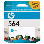 Genuine HP 564 (CB318WN) Cyan Ink Cartridge