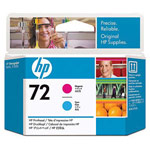 Genuine Hewlett Packard (C9383A) HP 72 Cyan/Magenta Ink Printhead