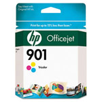 Genuine Hewlett Packard (CC656AN) HP 901 Color Ink Cartridge
