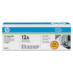 Genuine HP 12A Q2612AD Ultraprecise Black Toner Cartridge 2 Pack