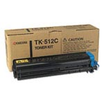 Genuine Kyocera Mita TK512C Cyan Toner Cartridge