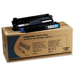 Genuine Konica-Minolta 1710532-004 Cyan Toner Cartridge and Drum Unit Kit