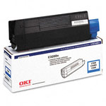 Genuine Okidata 43034803 Cyan Toner Cartridge