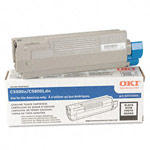 Genuine Okidata 43324404 High Yield Black Toner Cartridge