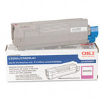 Genuine Okidata 43324402 High Yield Magenta Toner Cartridge