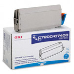 Genuine Okidata 41304207 Cyan Toner Cartridge