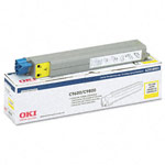 Genuine Okidata 42918901 Yellow Toner Cartridge