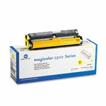 Genuine Konica-Minolta 1710517-002 Standard Yield Yellow Toner Cartridge