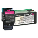 Genuine Lexmark C540H4MG High Yield Magenta Government Return Program Toner Cartridge (TAA Compliant Version of C540H1MG)