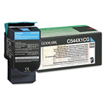 Genuine Lexmark C544X4CG Extra High Yield Cyan Government Return Program Toner Cartridge (TAA Compliant Version of C544X1CG)