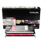 Genuine Lexmark C5346MX Extra High Yield Magenta Government Return Program Toner Cartridge (TAA Compliant version of C5342MX)