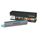 Genuine Lexmark C925H2CG High Yield Cyan Toner Cartridge