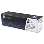 Genuine HP 128A (CE320AG) Black Government Smart Print Toner Cartridge (TAA Compliant version of CE320A)