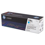 Genuine HP 128A (CE321AG) Cyan Government Smart Print Toner Cartridge (TAA Compliant version of CE321A)