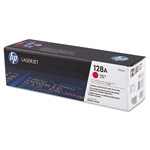 Genuine HP 128A (CE323AG) Magenta Government Smart Print Toner Cartridge (TAA Compliant version of CE323A)