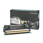 Genuine Lexmark C736H1KG High Yield Black Return Program Toner Cartridge