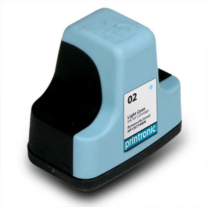 Compatible HP 02 (C8774WN) Light Cyan Ink Cartridge