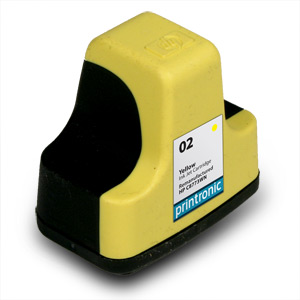 Compatible HP 02 (C8773WN) Yellow Ink Cartridge