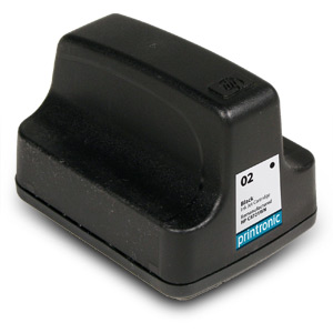 Compatible HP 02 (C8721WN) Black Ink Cartridge