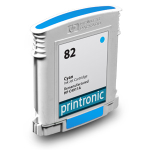 Compatible HP 82 (C4911A) High Capacity Cyan Ink Cartridge