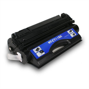 Compatible HP C7115X High Yield Black Toner Cartridge