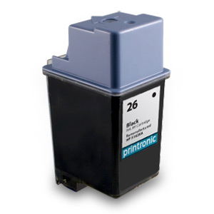 Compatible HP 26 (51626A) Black Ink Cartridge