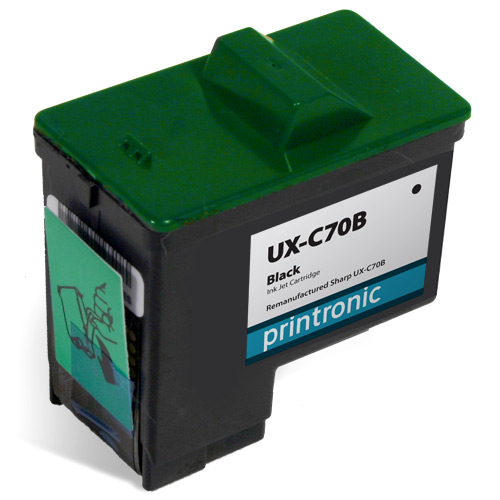 screenshot of Compatible Sharp UX-C70B Black Ink Cartridge