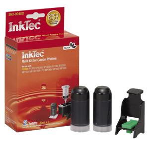 InkTec Refill Kit for Canon PG-40 and PG-50 Inkjet Cartridges