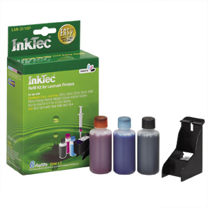 InkTec Refill Kit for Lexmark 31 Inkjet Cartridges