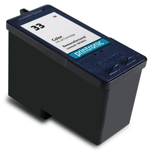 Compatible Lexmark #33 (18C0033) Color Ink Cartridge