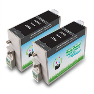 2 Pack Compatible Epson  T043120 High Capacity Black Ink Cartridges