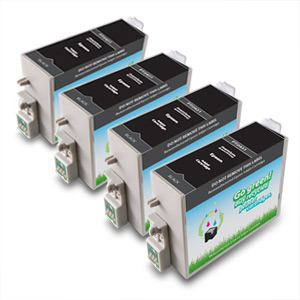 4 Pack Compatible Epson  T043120 High Capacity Black Ink Cartridges