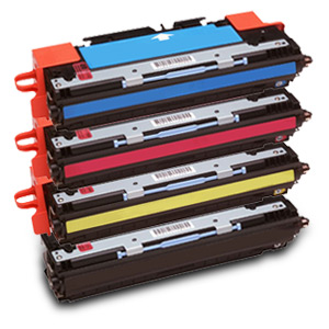 4 Pack HP Q2670A, Q2681A, Q2682A, Q2683A Compatible Toner Cartridge Set