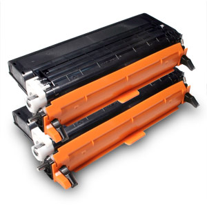 2 Pack Compatible Dell 3110CN/3115CN Laser Printer High Yield Black Toner Cartridge