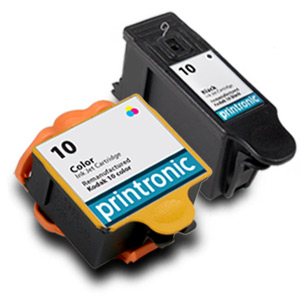 screenshot of 2 Pack Compatible Kodak 10 Color and Black ink Cartridge Set