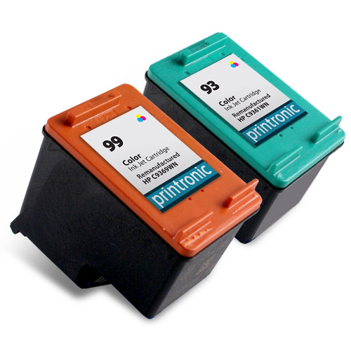 2 Pack Compatible HP 93 and HP 99